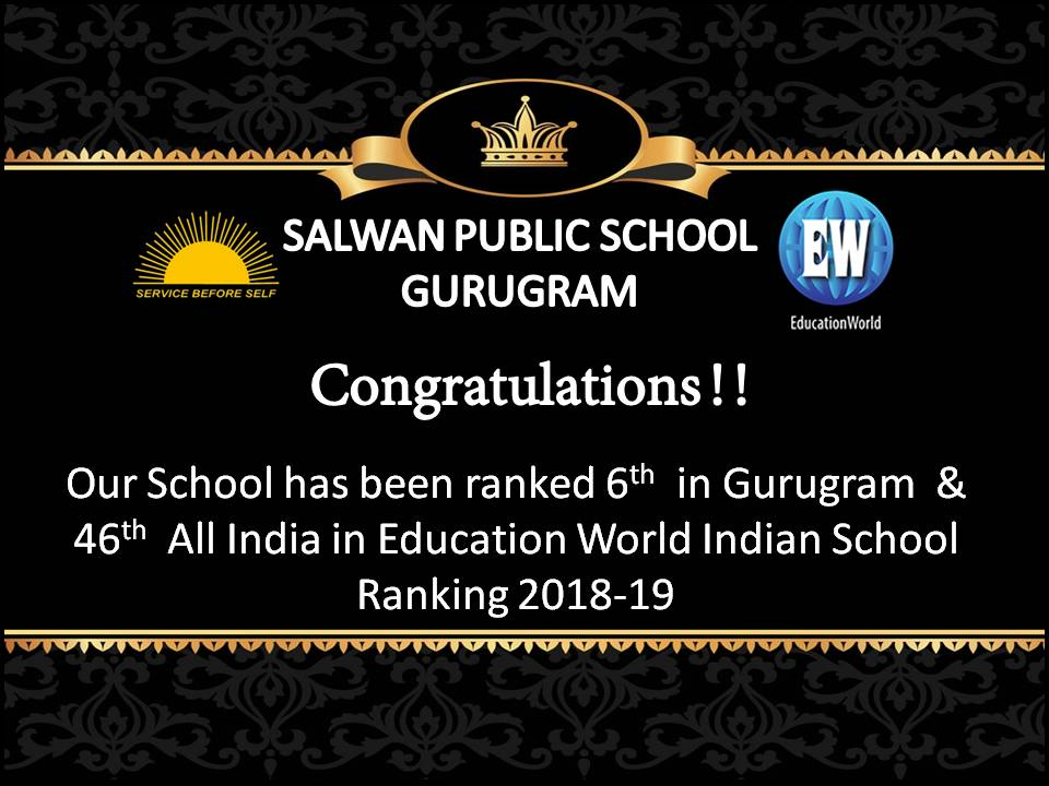 Education World Ranking 2018